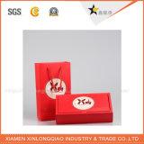 Bolso de empaquetado por encargo del rectángulo de regalo del rectángulo de papel de la alta calidad