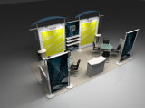 Banco di mostra impermeabile della fiera commerciale della cabina di mostra dell'alluminio 3X6