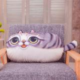 猫は家庭内オフィスのシート・クッションを印刷する