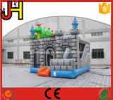 Draak Opblaasbare Combo, het Opblaasbare Kasteel Combo, het Opblaasbare Huis van de Draak van Bouncy van de Draak