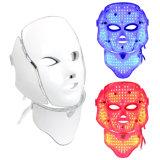 Éclairage LED facial de rajeunissement de peau de masque du photon DEL de PDT faisant la machine pour la beauté de peau