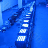 Etapa DMX iluminación exterior 20X12W RGBW LED PAR plana 4en1
