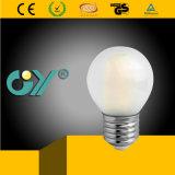 filament G45 de RoHS SAA E14/E27 DEL de la CE 4W