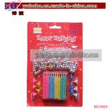 Servizio decorativo di Yiwu della candela di compleanno della candela degli elementi del partito (BO-5401)