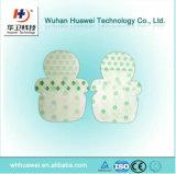 Película transparente adesiva confortável da proteção do salto