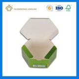 Caixa de empacotamento de papel sextavada (fornecedor de China)
