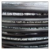 Hydraulischer Gummischlauch-glatter hydraulischer Oberflächenschlauch SAE-100r1at/1sn