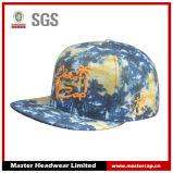 Sombrero del Snapback de la tela de Colorfull con el borde cuadrado