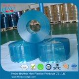 Polarer glatter hellblauer Vinylplastik-Belüftung-Vorhang Rolls
