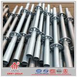 Q235 que lleva el andamio concreto de Ringlock del tubo de acero de la construcción