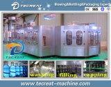 Завод автоматической вполне питьевой воды бутылки любимчика разливая по бутылкам