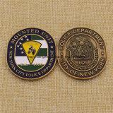 Изготовленный на заказ город эмали металла монетки полиций New York на сбывании