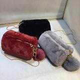 ヨーロッパ式の2017の方法人工毛皮のハンドバッグの美しい女性のショルダー・バッグSy8029