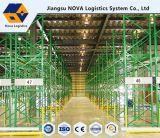 Racking de aço high-density da pálete para o armazenamento do armazém