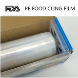 Il PE antinebbia di qualità aderisce pellicola per l'involucro 45cm*600m dell'alimento