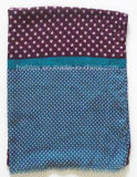 New Arrival Dots Joint Printing Polyester Pareo / Lady Scarf (HWBPS060)