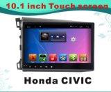 Système androïde lecteur DVD de véhicule de 10.1 pouces pour Honda Civic avec la navigation de GPS