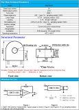 2500:1 linéaire large de gamme de CT de support de carte de transformateur de courant