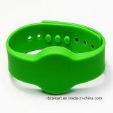 Wristband feito sob encomenda do silicone NXP MIFARE DESFire EV2 2k/4k/8k com logotipo