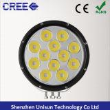 "12V-60V 9 "" 120W 9600lm 12X10W 크리 사람 LED 모는 빛"