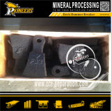 Mulino a martelli stridente dell'oro della strumentazione di estrazione mineraria fine del frantoio per pietre