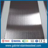Feuille acrylique d'acier inoxydable de couleur décorative