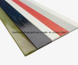 Barre plate de fibre de verre, bande, feuille