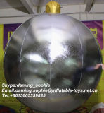 Silver gonflable Balloon pour Christmas Decoration