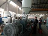 De reciclaje de plástico de la máquina y de par giratorio Co-extrusora de dos tornillos de alta