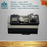 Mini Cina tornio orizzontale di CNC della base piana di Ck0640