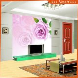 ホーム装飾の油絵(モデルNo.のための花の壁紙が付いている明るい空: Hx-5-034)