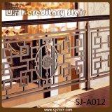 Chinese-Fertigung-großartiges Treppenhaus-Aluminiumleitschiene/Geländer (SJ-A012)