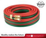 Ossigeno di alta qualità e tubo flessibile della gomma dell'acetilene