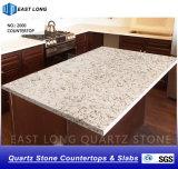 Bancadas de pedra artificiais de quartzo para materiais de construção de superfície contínuos