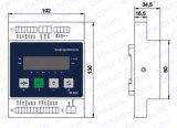 표시기 (B-ID203)의 무게를 다는 3개의 채널 통신로