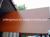 ISO9001: 2008년 가구 Grade E1 Glue Solid Wood Grain Color 100%년 Poplar 1220*2440mm Melamine Mositure Proof Green MDF Board