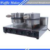 Générateur électrique de gaufre de Baker de gaufre avec le restaurant de film publicitaire de certificat de la CE