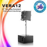 Altavoz de madera del sistema de sonido modelo del rectángulo Vera12