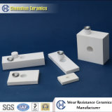 Плитка глинозема сопротивления износа 92% ударопрочная от керамического изготовления