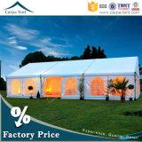 100%スペース使用法の容易なセットアップ贅沢な防水ファブリック結婚式のテント