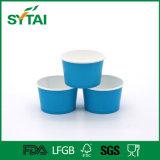 Taza del yogur del papel revestido del PE de la categoría alimenticia de la alta calidad