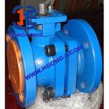 DIN/API de pneumatische 2PC Kogelklep van de Flens van het Roestvrij staal