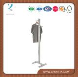 Présentoir de vêtement d'OEM Costumer avec Hangrail réglable