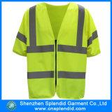 Veste de advertência do trabalhador da construção da segurança Emergency do Vis do costume olá!