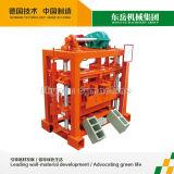Máquina de fatura de tijolo 2014 a melhor Qt40-2 pequena de venda