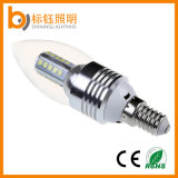 Bulbo de interior de la lámpara de la lámpara 3W LED de la luz de la vela de la iluminación de E27 SMD
