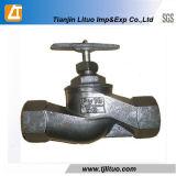 Válvula de globo padrão da flange do ferro de molde do russo