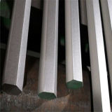 AISI304 Stainless Steel Hexagon Bar com Shot Blasting Finish