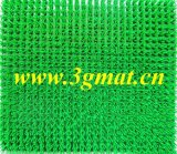 Gazon artificiel de tapis de piscine de natte de PE de natte d'herbe
