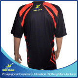 Sublimation personalizzato Bowling Sports Jersey per Bowling Clothing